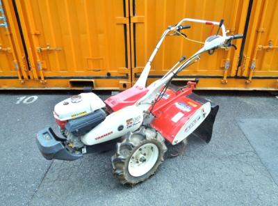 ヤンマー DK7DX 耕運機 デカポチ 畦立て器付 現状動作品
