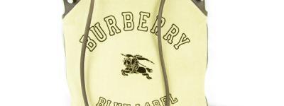 BURBERRY BLUE LABEL バーバリー ブルーレーベル コーデュロイ トートバック ショッパーズバック ベージュ メンズ レディース
