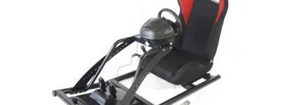 ロッソモデロ GT3000 D-RSP Thrustmaster T300RS付 レースゲーム コックピット 直