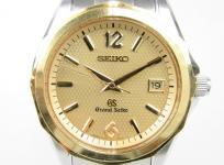 SEIKO セイコー GS GRAND SEIKO グランドセイコー 9F62-0A70 SBGX036 K18 SS 腕時計 電池切れ