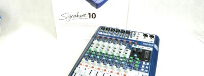 Soundcraft サウンドクラフト Signature 10 Signature Series アナログ ミキサー