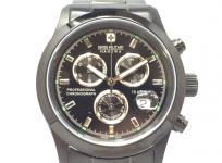 SWISS MILITARY スイスミリタリー エレガントクロノ ML-247 ブラック 腕時計 メンズ