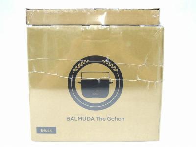 BALMUDA バルミューダ The Gohan K03A-BK 蒸気炊飯器