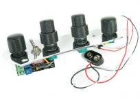 AUDERE JAZZ ベース用 オンボード プリアンプ 音響 パーツ