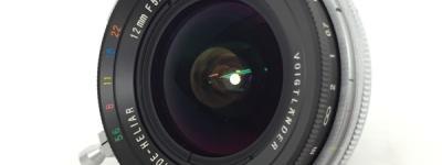 Voigtlander ULTRA WIDE HELIAR 12mm F5.6 SL レンズ