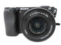 SONY ソニー α6300 デジタルカメラ ILCE-6300 デジカメ ミラーレス 一眼 ズームレンズキット 16-50mm カメラ