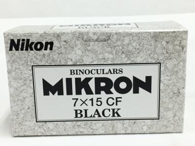 Nikon BINOCULARS MIKRON ニコン 双眼鏡 ミクロン 7 × 15 CF ブラック BAA514AA