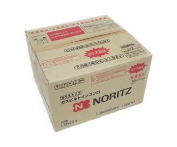 NORITZ ノーリツ fami ファミ N3WN6RWAS 12A13A 都市ガス ビルトイン オートタイプ ダブル高火力 ガスコンロ 家電