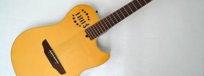 GODIN MULTIAC STEEL DUET エレアコ ギター ハードケース付き
