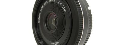 Canon キャノン EFS 24mm 2.8 STM カメラ レンズ 単焦点 広角レンズ