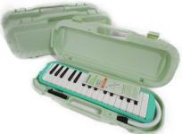 鈴木楽器製作所 MXA-32G 鍵盤 ハーモニカ グリーン メロディオンアルト 3点セット 楽器