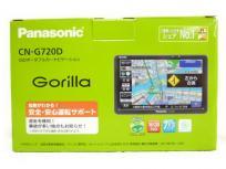 Panasonic ゴリラ CN-G720D ポータブルナビ 自動車 地図