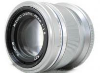 OLYMPUS オリンパス M.ZUIKO DIGITAL 45mm F1.8 カメラ レンズ 単焦点 シルバー