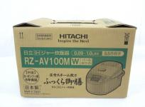 HITACHI RZ-AV100M W 炊飯器 5.5合