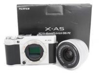 FUJIFILM 富士フィルム X-A5 レンズキット XC15-45mm F3.5-5.6 OIS PZ カメラ 撮影 4K マルチフォーカス