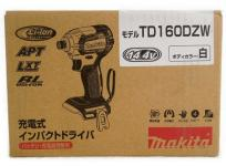 Makita マキタ TD160DZW 電動工具 14.4V 充電式 インパクト ドライバー 本体のみ