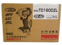 Makita マキタ TD160DZL 電動工具 14.4V 充電式 インパクト ドライバー 本体のみ