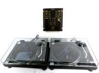 Technics SL-1200MK5×2台 SH-EX1200 ターンテーブル ミキサー セット