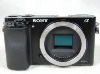 SONY デジタル一眼カメラ ILCE-6000 α6000 ボディ ブラック