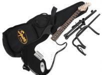 Fender フェンダー Squier Bullet Strat スクワイア エレキギター エレキ ギター 楽器 演奏 スタンド 付き