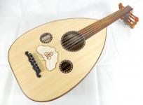ウード Oud アラブ 中東 民族楽器 gawharet El Fan ハードケース付