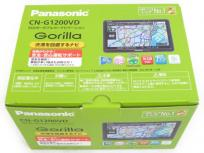 Panasonic パナソニック Gorilla CN-G1200VD SSD 渋滞 回避 ワンセグ ポータブル カーナビ 7インチ 2018年製
