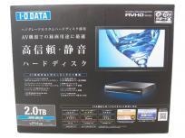 I・O DATA アイ・オー・データ AVHD-UR2.0B 外付けハードディスク 2TB