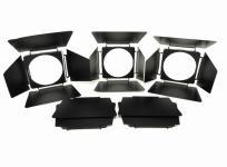 メーカー不明 ライトカッター 5枚 セット ストロボ 周辺機器 アクセサリ カメラ