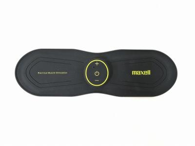 maxell マクセル MXES-R200YG ACTIVEPAD EMS フィットネスマシン 2極タイプ 充電式 腹筋 パッド ダイエット エクササイズ 低周波