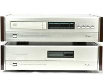 Accuphase アキュフェーズ DP-80L DC-81L D/Aコンバーター CDプレーヤー CDトランスポート セット 音響 オーディオの買取