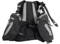 Bism JS3020S スキューバダイビング サマージ BCジャケット Sサイズ ブラック グレー マリンスポーツ