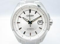 CITIZEN シチズン Automatic オートマチック The Signature Collection NB0040-58A 自動巻 メンズ腕時計 シルバー文字盤