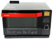 SHARP シャープ ウォーターオーブン ヘルシオ AX-CX1-R 電子 オーブン レンジ 18L 家電