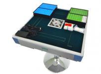 AMOS mini 2 麻雀卓 牌2セット 点棒 付き