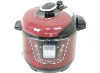 ワンダーシェフ OEDA30 T11 家庭用 電気圧力鍋 マイコン 3.0L レッド系
