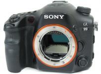 SONY α99 SLT-A99V デジタル カメラ 一眼レフ デジイチ ボディ
