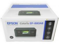 EPSON カラリオ EP-880AB インクジェット プリンタ (A4対応) ブラック