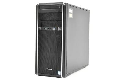 TSUKUMO ツクモ G-GEAR GA7J-H91/T ゲーミング デスクトップ パソコン PC i7 7700 3.6GHz 16GB SSD240GB HDD1TB Win10 Home 64bit GTX1080 H270