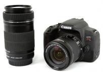 キヤノン Canon EOS Kiss X9i ダブルズームキット 18-55mm 55-250mm レンズ ボディ カメラ 付属品