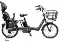 Panasonic BE-ELMA032 ギュット アニーズ DX 電動 アシスト 自転車 20インチ チャイルドシート 付き 楽 大型の買取