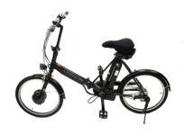 SANYO エネループバイク Y-SPJ220(K) 20インチ 電動 折りたたみ 自転車 ブラック 大型の買取