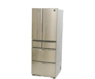 SHARP シャープ SJ-XF44X-T 冷蔵庫 440L 6ドア フレンチドア プレミアブラウン