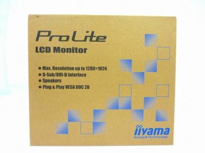 iiyama イイヤマ PROLITE E1980SD-W2 液晶モニター 19型 ピュアホワイト