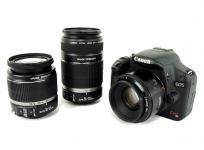 Canon EOS Kiss X3 DS126231 ダブルズームキット KISSX3-WKIT デジタル 一眼レフ カメラ