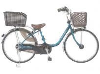 Panasonic パナソニック vivi DX BE-END636G2 電動自転車 電動アシスト自転車 26型 グリーン系 大型の買取