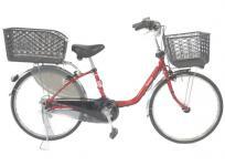 Panasonic パナソニック vivi DX BE-ELD433R 電動自転車 電動アシスト自転車 24型 レッド系 大型の買取