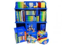 DWE ミッキーパッケージ 2011年 マジックペンセット 棚有り 英語 ディズニー DVD CD 絵本 カード おもちゃ