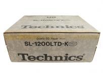 Technics テクニクス SL-1200LTD-K ブラック 限定モデル ターンテーブル 音響機材 器材 オーディオ機器