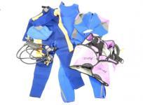 apollo レギュレーター ジャケット AQUA lung バッグ スーツ フード ダイビング スキューバー 機材 セット