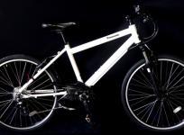 パナソニック Panasonic BE-ENH544F2 電動アシスト 自転車 ハリヤ 26型 外装7段変速 クリスタルホワイト 大型の買取